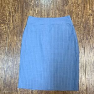Banana Republic pinstripe pencil skirt size 4